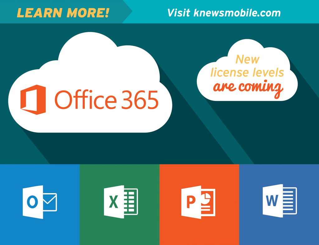 New Office 365 Licenses Coming Soon