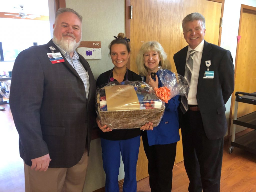 Kaitlyn Clodfelter Named Kettering Medical Center's May Employee of the Month