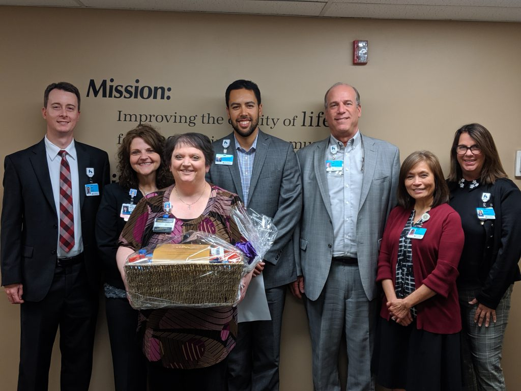 April Ratliff Named Soin Medical Center's February Employee of the Month
