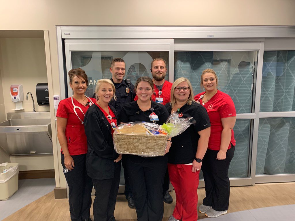Emma Hickman Named Troy Hospital's September Employee of the Month