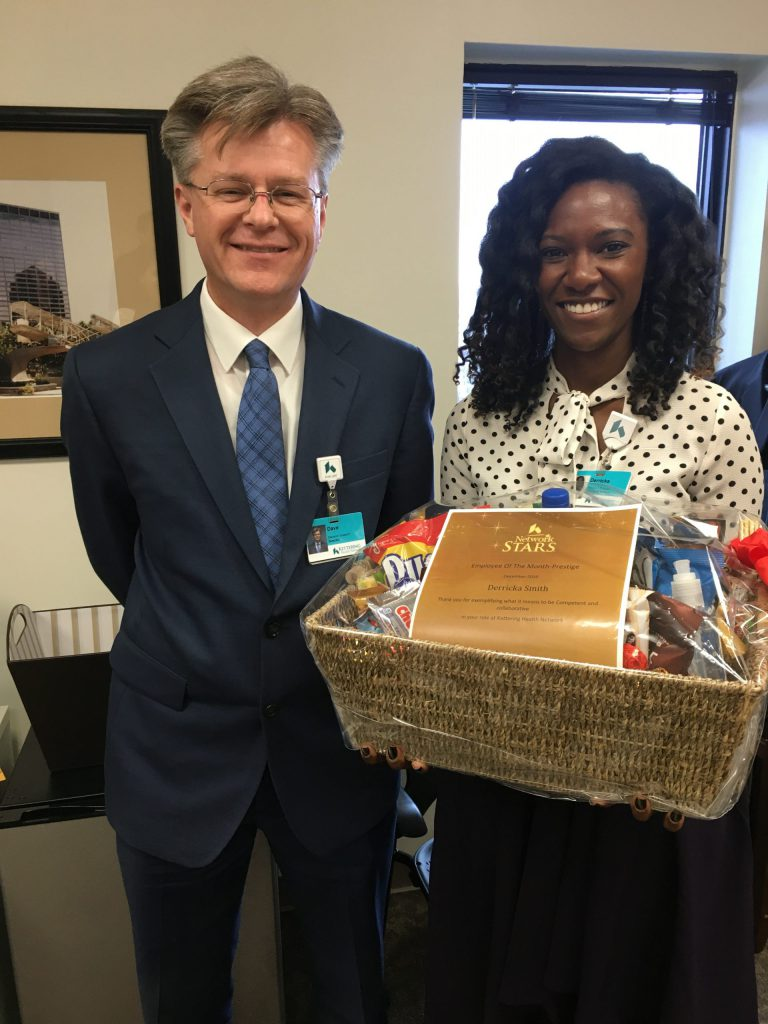 Derricka Smith Named Prestige's December Employee of the Month