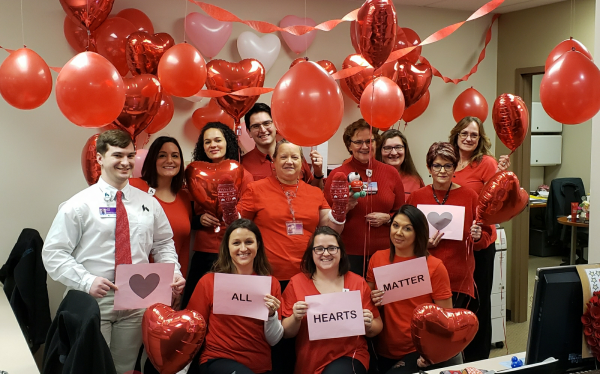 Network Employees Participate in the Go Red for Women Contest