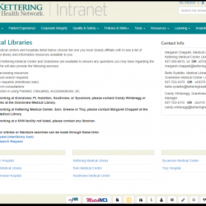 Kettering Health Network Virtual Libraries Now Available