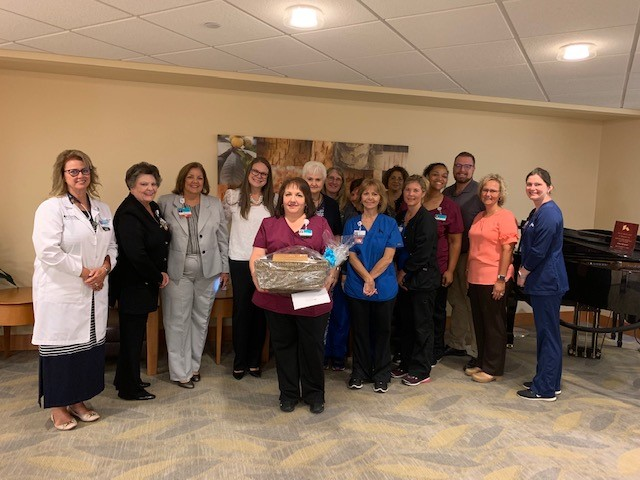 Stephanie Austin Named Grandview Medical Center's May Employee of the Month