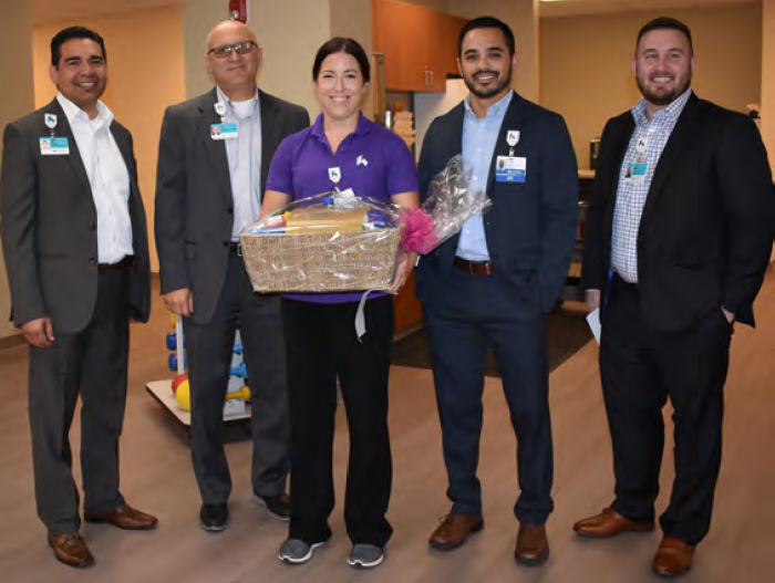 Rebekah Trimbach Named Fort Hamilton Hospital's August Employee of the Month