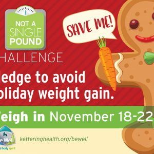 Not a Single Pound: Pledge to Avoid Holiday Weight Gain