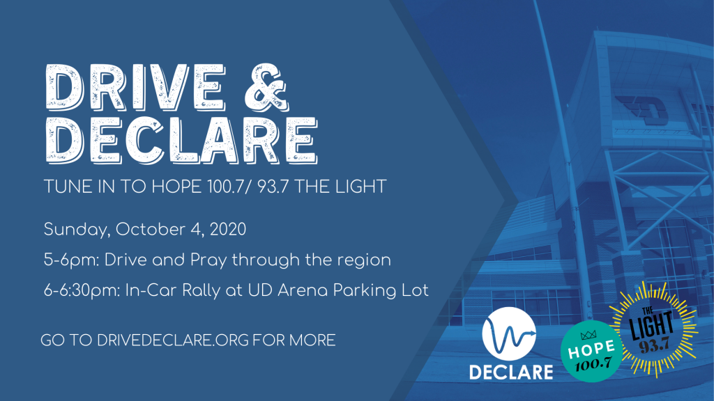 Take Part in the Drive and Declare Event