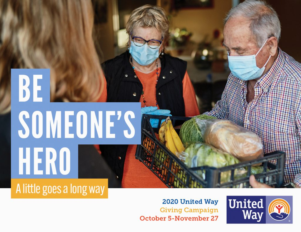 United Way Campaign: Be Someone's Hero