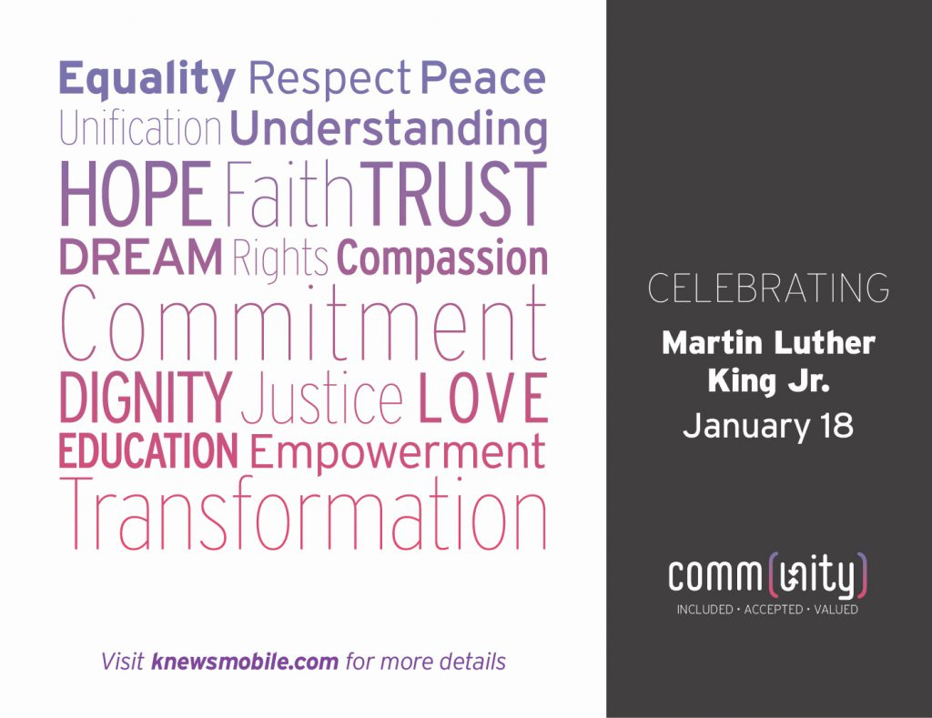 Join Us in Honoring the Legacy of Martin Luther King Jr.