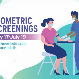 Biometric Screenings and Wellness Incentive Program May 17-July 19